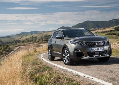 Peugeot 3008 SUV Blue Lease 1.5 HDi 6H GT-line