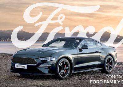 Unieke Mustang Bullitt en Shelby GT-H te zien tijdens Ford Family Day op 30 juni