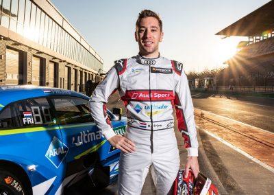 Robin Frijns en zijn Audi-collega's kijken uit naar DTM Assen