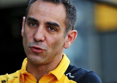 Cyril Abiteboul is niet blij met zijn rijder Nico Hülkenberg