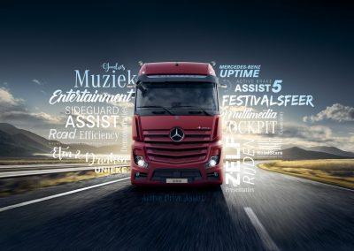 Chauffeursdag van Mercedes-Benz Trucks!