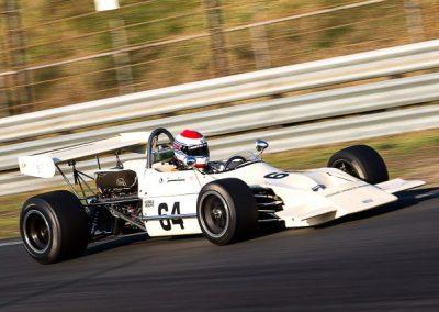 Hoogtijdagen van de Formule 2 gevierd met tientallen auto's