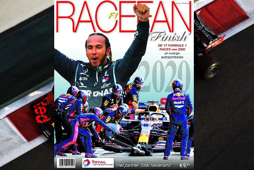 Bestel  snel online,  voorraad raakt op! RaceFan F1 'Finish' 2020